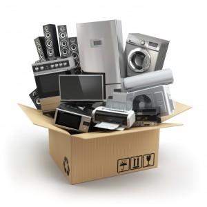 Elektrogeräte richtig verpacken