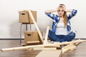 Möbelauf- und Abbau