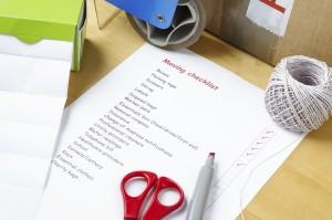 Selber umziehen Checkliste