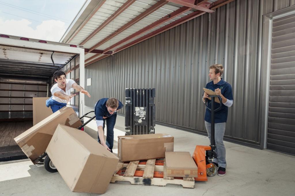 Transportschaden durch Logistikunternehmen