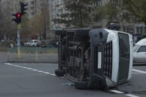 Unfall mit Transporter